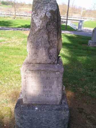 POTEE, GABRIEL MILTON - Madison County, Ohio | GABRIEL MILTON POTEE - Ohio Gravestone Photos