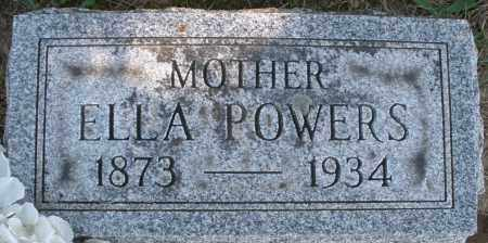 POWERS, ELLA - Madison County, Ohio | ELLA POWERS - Ohio Gravestone Photos