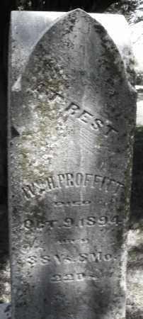PROFFITT, IVAH - Madison County, Ohio | IVAH PROFFITT - Ohio Gravestone Photos