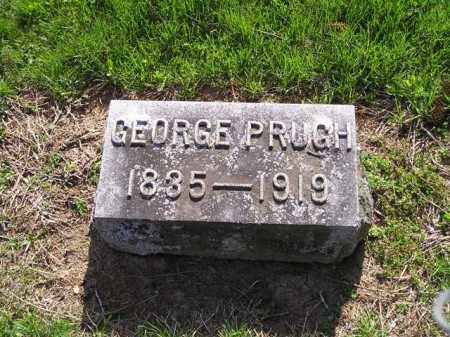 PRUGH, GEORGE COOPER - Madison County, Ohio | GEORGE COOPER PRUGH - Ohio Gravestone Photos