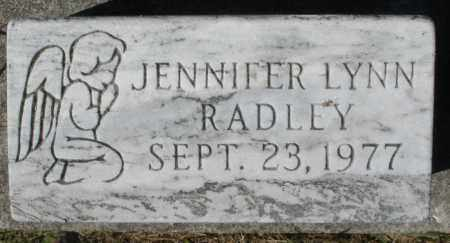 RADLEY, JENNIFER LYNN - Madison County, Ohio | JENNIFER LYNN RADLEY - Ohio Gravestone Photos