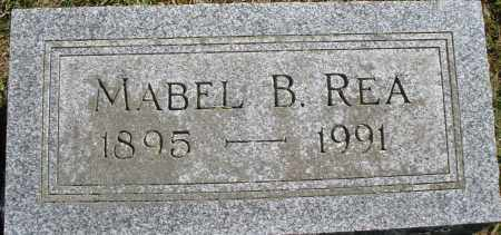 REA, MABEL B. - Madison County, Ohio | MABEL B. REA - Ohio Gravestone Photos