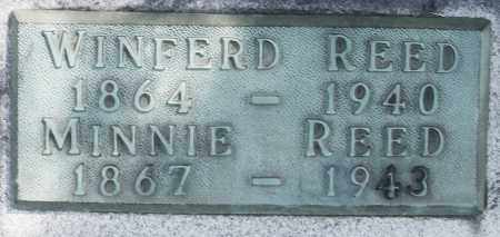 REED, MINNIE - Madison County, Ohio | MINNIE REED - Ohio Gravestone Photos