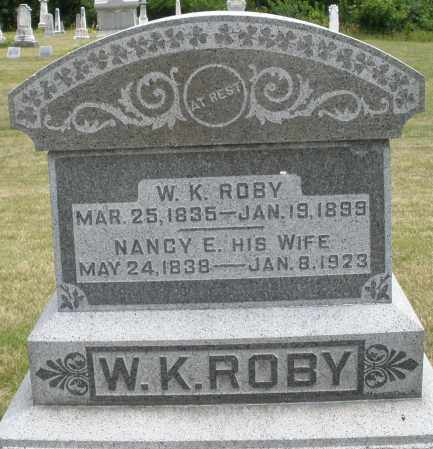ROBY, W. K. - Madison County, Ohio | W. K. ROBY - Ohio Gravestone Photos