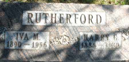 RUTHERFORD, IVA M. - Madison County, Ohio | IVA M. RUTHERFORD - Ohio Gravestone Photos