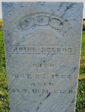 SELSOR, JOHN - Madison County, Ohio | JOHN SELSOR - Ohio Gravestone Photos