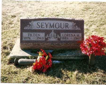 SEYMOUR, LORENA M. - Madison County, Ohio | LORENA M. SEYMOUR - Ohio Gravestone Photos