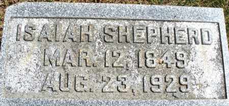 SHEPHERD, ISAIAH - Madison County, Ohio | ISAIAH SHEPHERD - Ohio Gravestone Photos