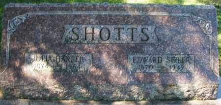 SHOTTS, JULIA - Madison County, Ohio | JULIA SHOTTS - Ohio Gravestone Photos