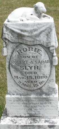 SLYH, ROBIE - Madison County, Ohio | ROBIE SLYH - Ohio Gravestone Photos
