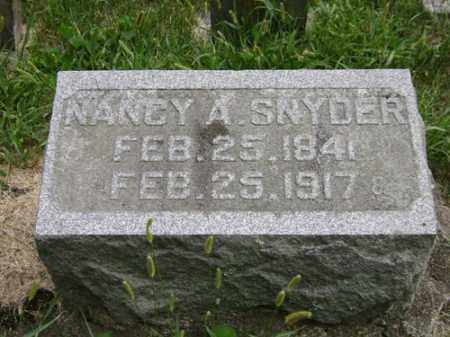 SNYDER, NANCY A. - Madison County, Ohio | NANCY A. SNYDER - Ohio Gravestone Photos