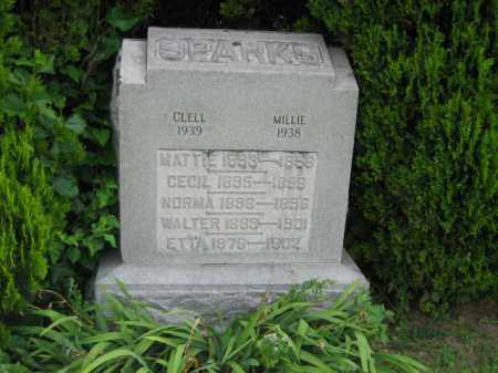 SPARKS, CLELL - Madison County, Ohio | CLELL SPARKS - Ohio Gravestone Photos