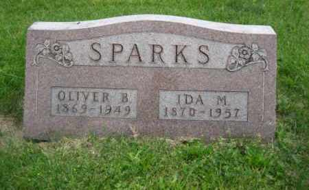 SPARKS, OLIVER B. - Madison County, Ohio | OLIVER B. SPARKS - Ohio Gravestone Photos