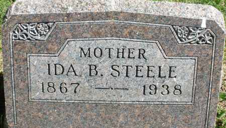 STEELE, IDA B. - Madison County, Ohio | IDA B. STEELE - Ohio Gravestone Photos