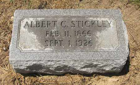 STICKLEY, ALBERT C. - Madison County, Ohio | ALBERT C. STICKLEY - Ohio Gravestone Photos