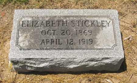 STICKLEY, ELIZABETH - Madison County, Ohio | ELIZABETH STICKLEY - Ohio Gravestone Photos