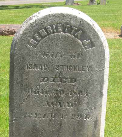 STICKLEY, HENRIETTA J. - Madison County, Ohio | HENRIETTA J. STICKLEY - Ohio Gravestone Photos