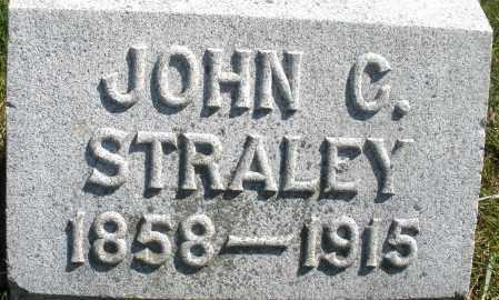 STRALEY, JOHN C. - Madison County, Ohio | JOHN C. STRALEY - Ohio Gravestone Photos