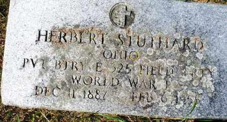 STUTHARD, HERBERT - Madison County, Ohio | HERBERT STUTHARD - Ohio Gravestone Photos