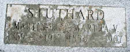 STUTHARD, MARTHA V. - Madison County, Ohio | MARTHA V. STUTHARD - Ohio Gravestone Photos