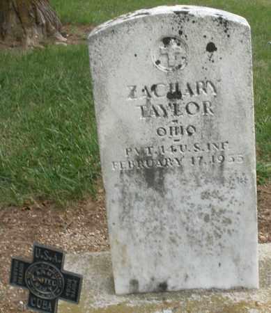 TAYLOR, ZACHARY - Madison County, Ohio | ZACHARY TAYLOR - Ohio Gravestone Photos