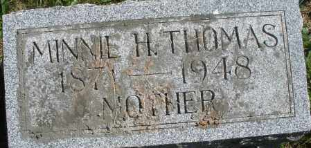THOMAS, MINNIE H. - Madison County, Ohio | MINNIE H. THOMAS - Ohio Gravestone Photos