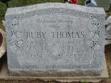 THOMAS, RUBY - Madison County, Ohio | RUBY THOMAS - Ohio Gravestone Photos