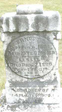 THOMPSON, ERNEST - Madison County, Ohio | ERNEST THOMPSON - Ohio Gravestone Photos