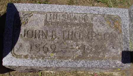 THOMPSON, JOHN B. - Madison County, Ohio | JOHN B. THOMPSON - Ohio Gravestone Photos