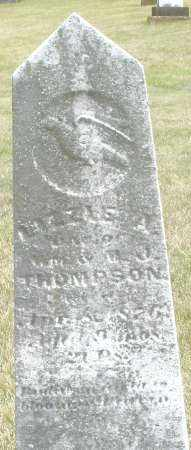 THOMPSON, LIZZIE - Madison County, Ohio | LIZZIE THOMPSON - Ohio Gravestone Photos