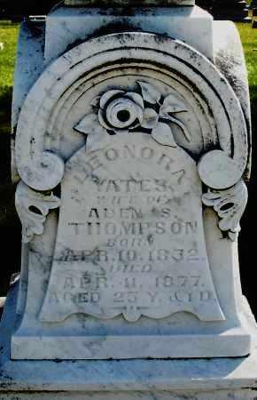 YATES THOMPSON, LEONORA - Madison County, Ohio | LEONORA YATES THOMPSON - Ohio Gravestone Photos