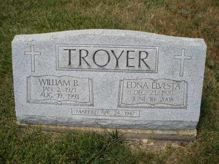 TROYER, WILLIAM B. - Madison County, Ohio | WILLIAM B. TROYER - Ohio Gravestone Photos