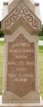 VANDEVORT, BARNET - Madison County, Ohio | BARNET VANDEVORT - Ohio Gravestone Photos