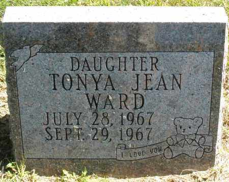 WARD, TONYA JEAN - Madison County, Ohio | TONYA JEAN WARD - Ohio Gravestone Photos