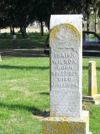 WILSON, ISAIAH - Madison County, Ohio | ISAIAH WILSON - Ohio Gravestone Photos