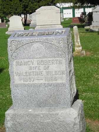 WILSON, NANCY DONNELLS - Madison County, Ohio | NANCY DONNELLS WILSON - Ohio Gravestone Photos