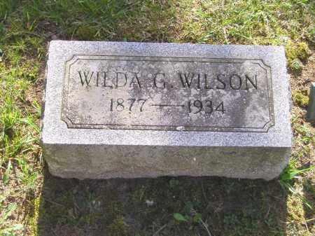 JOHNSON WILSON, WILDA G. - Madison County, Ohio | WILDA G. JOHNSON WILSON - Ohio Gravestone Photos