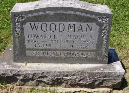 BUSSARD WOODMAN, JESSIE - Madison County, Ohio | JESSIE BUSSARD WOODMAN - Ohio Gravestone Photos