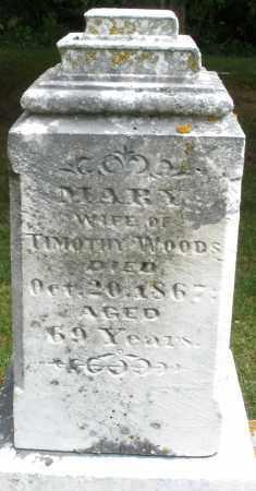 WOODS, MARY - Madison County, Ohio | MARY WOODS - Ohio Gravestone Photos