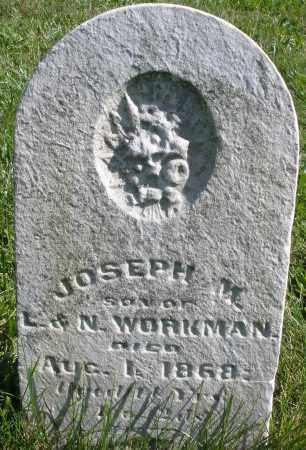 WORKMAN, JOSEPH M. - Madison County, Ohio | JOSEPH M. WORKMAN - Ohio Gravestone Photos