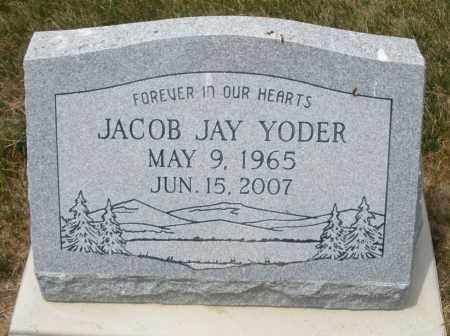 YODER, JACOB JAY - Madison County, Ohio | JACOB JAY YODER - Ohio Gravestone Photos