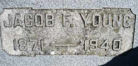 YOUNG, JACOB F. - Madison County, Ohio | JACOB F. YOUNG - Ohio Gravestone Photos