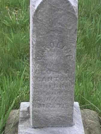 ?, CAROLINE - Mahoning County, Ohio | CAROLINE ? - Ohio Gravestone Photos