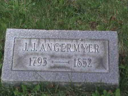 ANGERMYER, J. J. - Mahoning County, Ohio | J. J. ANGERMYER - Ohio Gravestone Photos