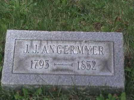 ANGERMYER, J. J. - Mahoning County, Ohio | J. J. ANGERMYER - Ohio Gravestone Photos