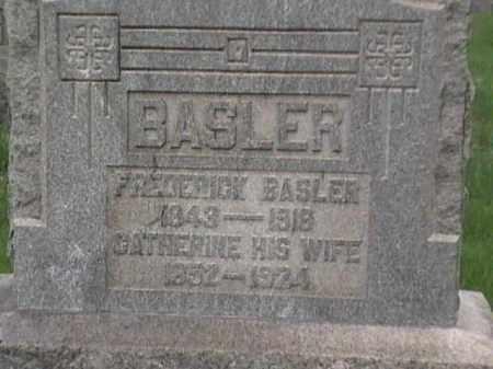 BASLER, FREDERICK - Mahoning County, Ohio | FREDERICK BASLER - Ohio Gravestone Photos