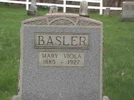 BASLER, MARY VIOLA - Mahoning County, Ohio | MARY VIOLA BASLER - Ohio Gravestone Photos