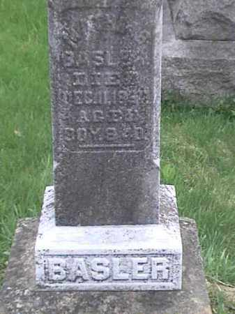 BASLER, MATHIAS - Mahoning County, Ohio | MATHIAS BASLER - Ohio Gravestone Photos