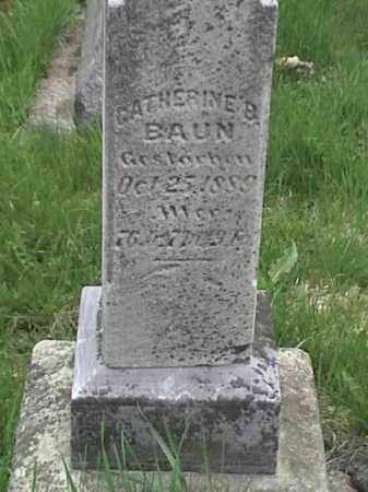BAUN, CATHERINE B. - Mahoning County, Ohio | CATHERINE B. BAUN - Ohio Gravestone Photos