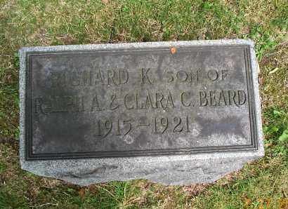 BEARD, RICHARD K. - Mahoning County, Ohio | RICHARD K. BEARD - Ohio Gravestone Photos